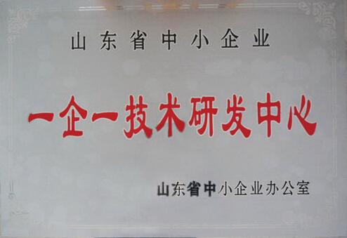山东省一企一技术研发中心